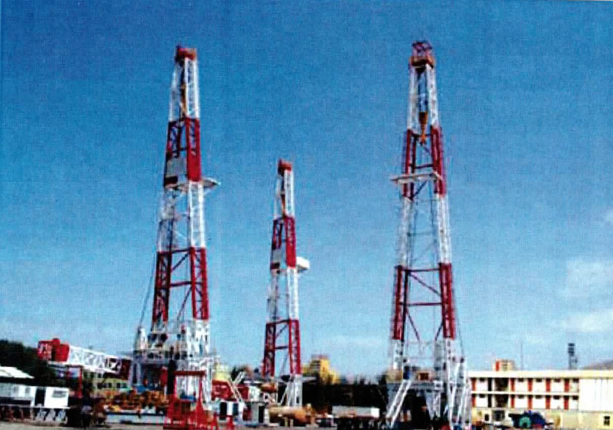 Oilgas J B S Cranes